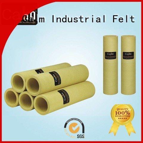 Hot black felt roll pbokevlar600°c felt roll 480°c Calm Industrial Felt
