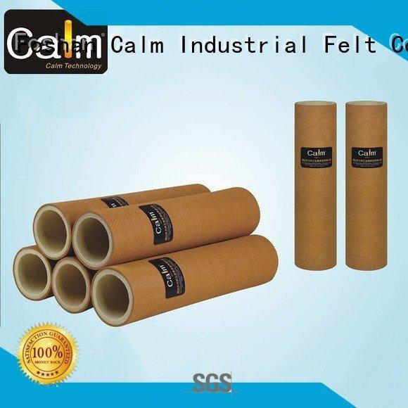 Calm Industrial Felt pbo 480°c felt roll 280°c tempresistance