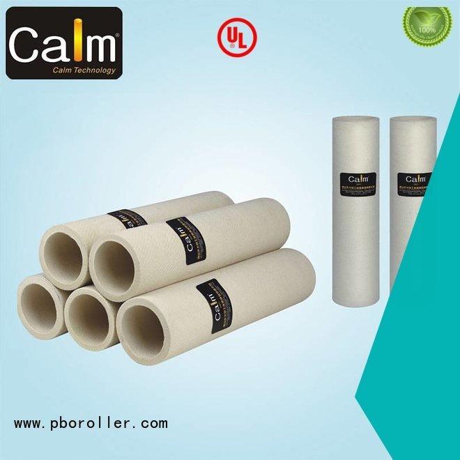 black felt roll 180°c felt roll Calm Industrial Felt Brand