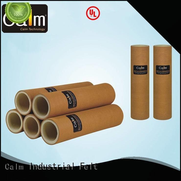 Calm Industrial Felt Brand 280°c 480°c pbokevlar600°c black felt roll