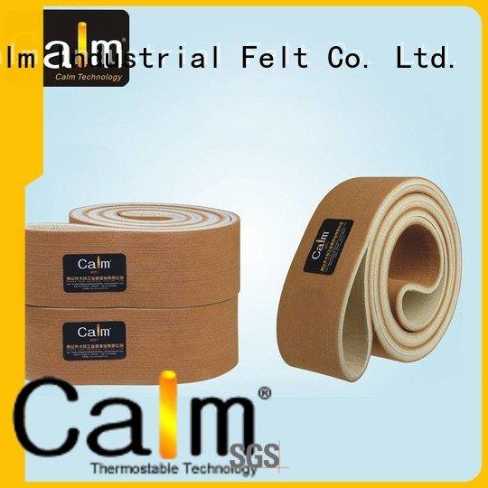 seamless low felt belt 280°c Calm Industrial Felt