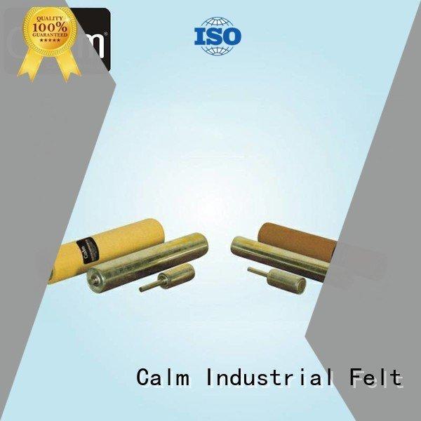iron gravity roller Calm Industrial Felt aluminum conveyor rollers