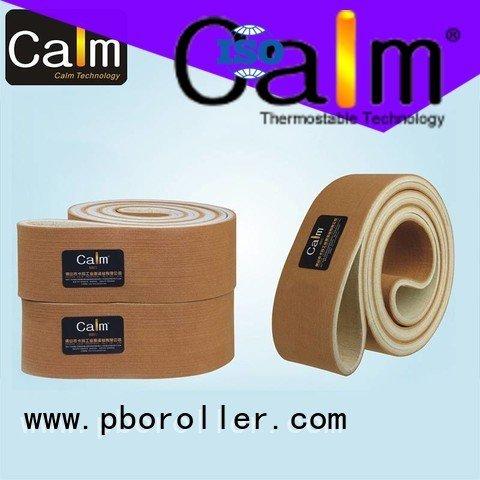 industrial conveyor manufacturers 280°c conveyor felt belt Calm Industrial Felt Brand