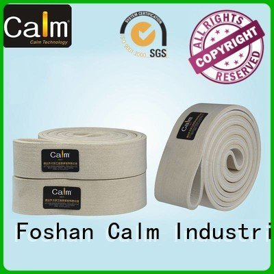 Calm Industrial Felt industrial conveyor manufacturers 600°c ultrahigh conveyor