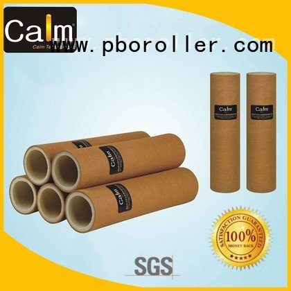 Calm Industrial Felt Brand 180°c 280°c black felt roll high roller
