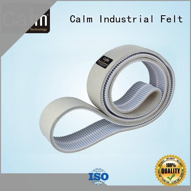 timing belt thin felt strips Calm Industrial Felt manufacture