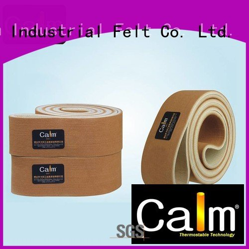 480°c felt belt conveyor ring Calm Industrial Felt