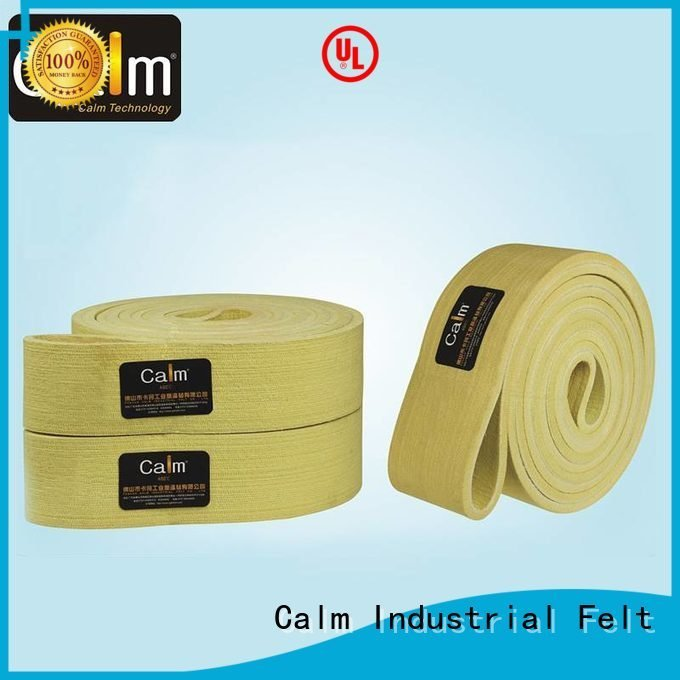 industrial conveyor manufacturers belt Calm Industrial Felt Brand felt belt
