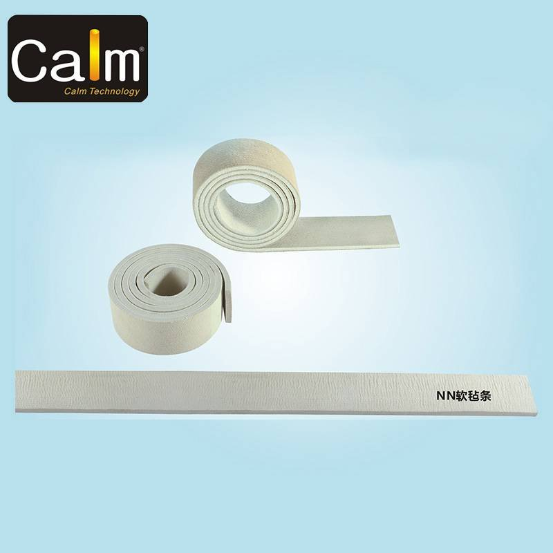 280° Two side protection Nomex,felt strip for packing iron rack