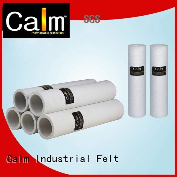 black felt roll 480°c middletemp OEM felt roll Calm Industrial Felt