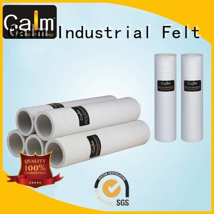 Wholesale 480°c high felt roll Calm Industrial Felt Brand