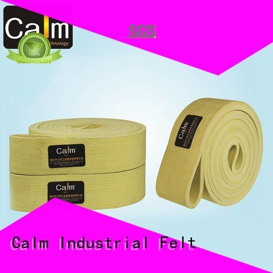 Calm Industrial Felt industrial conveyor manufacturers belt 180°c 600°c middle