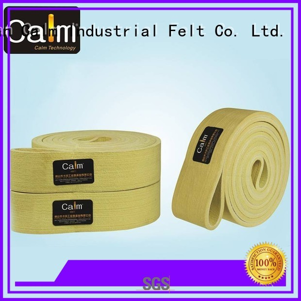 industrial conveyor manufacturers temperature ring Warranty Calm Industrial Felt