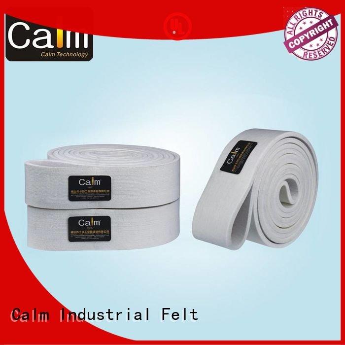 Custom felt belt ring 280°c 480°c Calm Industrial Felt