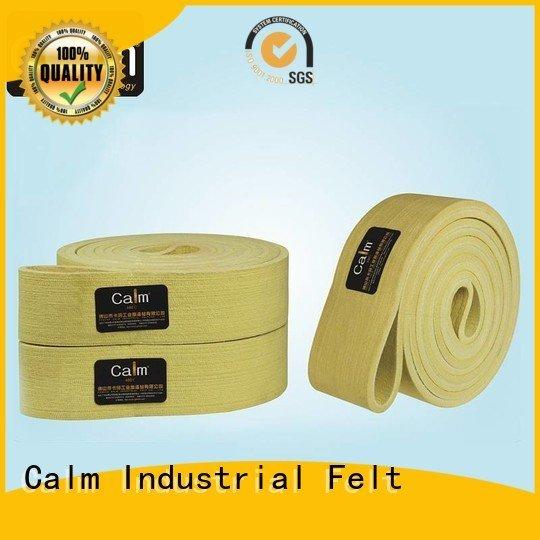 industrial conveyor manufacturers seamless felt belt felt Calm Industrial Felt