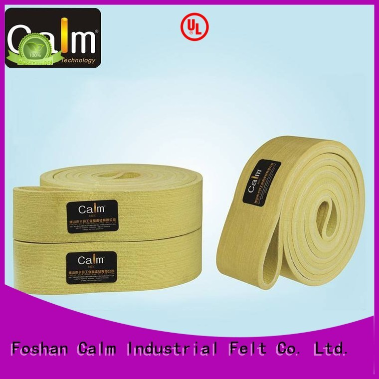 600°c seamless 480°c felt belt temperature Calm Industrial Felt
