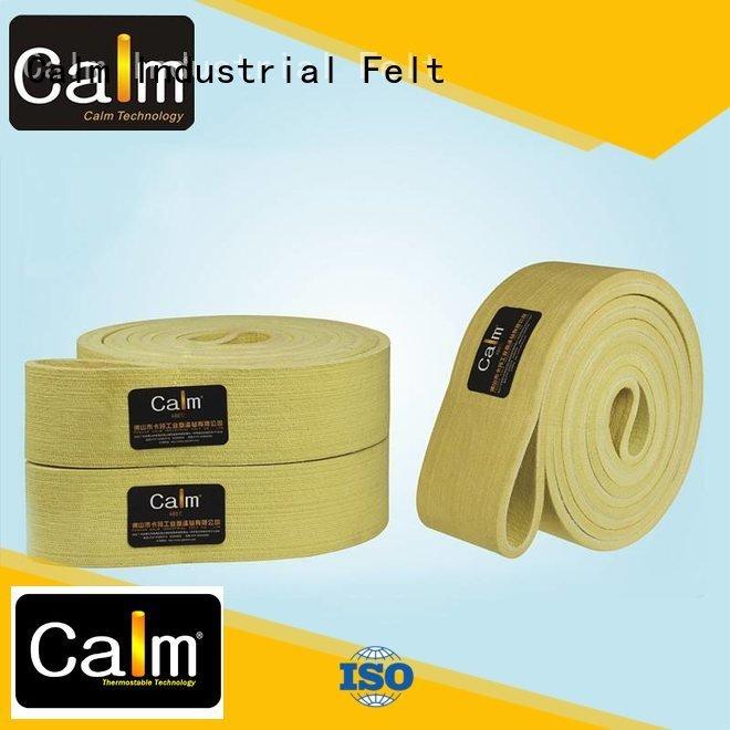 OEM industrial conveyor manufacturers 180°c 280°c conveyor felt belt