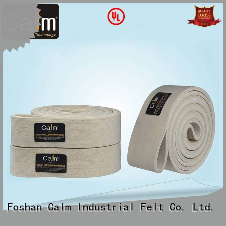 seamless felt felt belt low Calm Industrial Felt Brand company