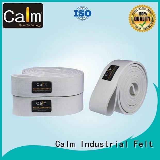 tempseamless felt belt Calm Industrial Felt industrial conveyor manufacturers