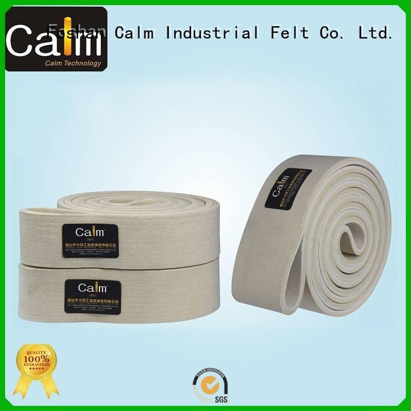 Calm Industrial Felt felt belt felt 600°c ultrahigh belt