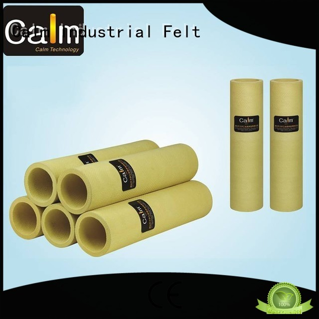 Calm Industrial Felt Brand tempresistance 180°c felt roll manufacture