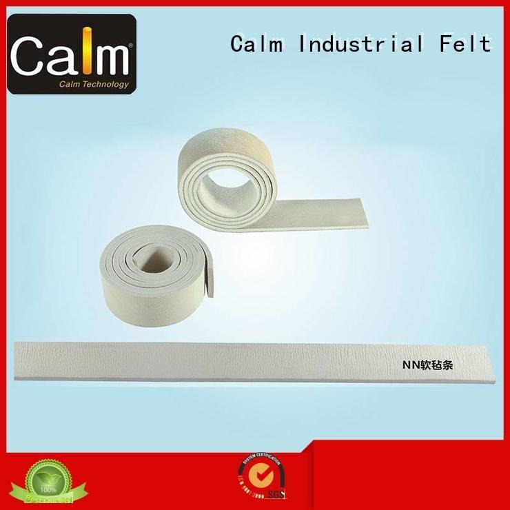thin felt strips packing strip OEM felt strips Calm Industrial Felt