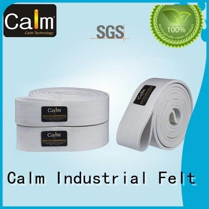Custom seamless felt belt 180°c industrial conveyor manufacturers