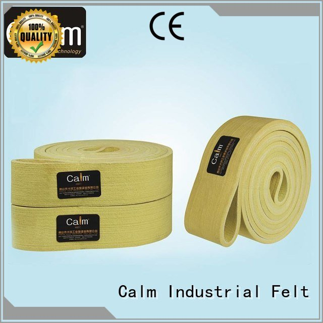 Calm Industrial Felt Brand 280°c conveyor industrial conveyor manufacturers middle belt