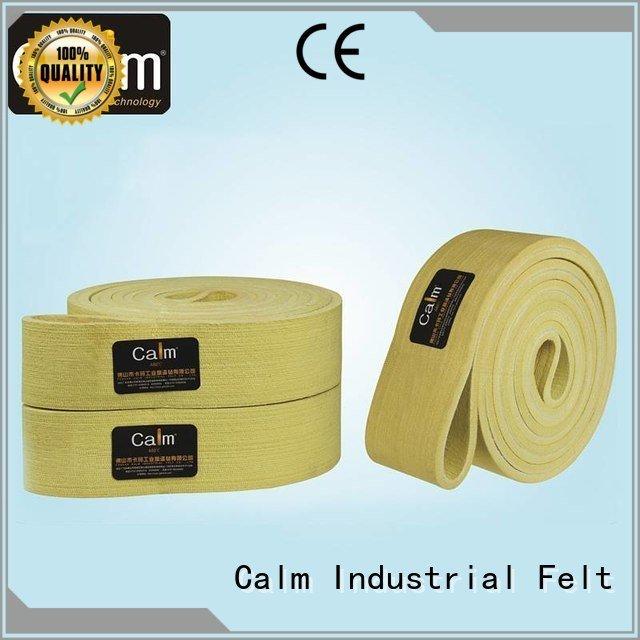 Calm Industrial Felt Brand 280°c conveyor industrial conveyor manufacturers middle belt