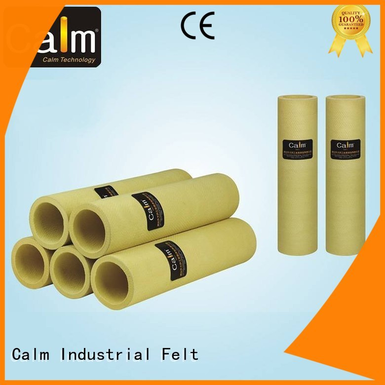 480°c black felt roll high pbokevlar600°c Calm Industrial Felt Brand