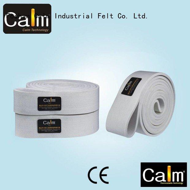 Calm Industrial Felt Brand 180°c seamless felt felt belt
