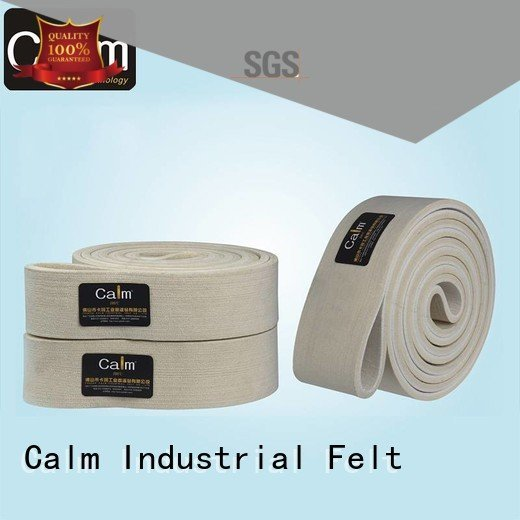 industrial conveyor manufacturers conveyor belt OEM felt belt Calm Industrial Felt