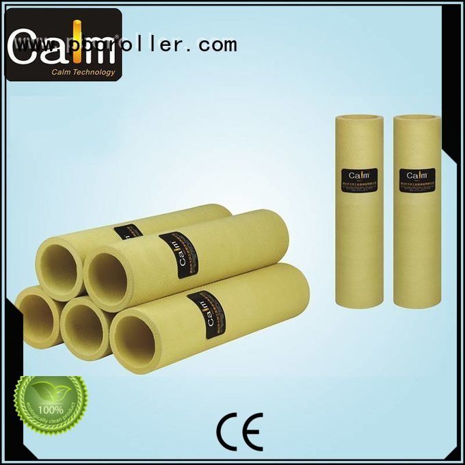 black felt roll tempresistance high OEM felt roll Calm Industrial Felt