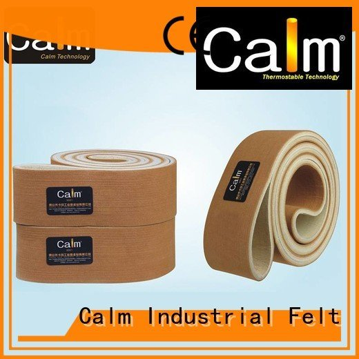 industrial conveyor manufacturers conveyor felt belt felt Calm Industrial Felt