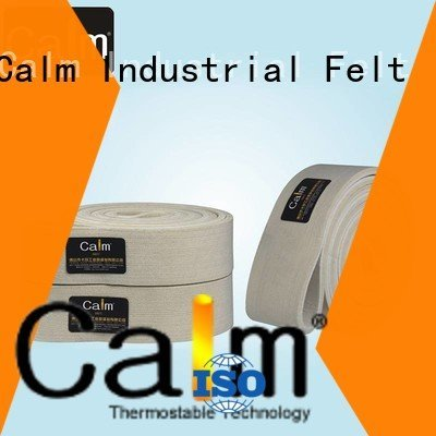 industrial conveyor manufacturers tempseamless felt belt Calm Industrial Felt Brand