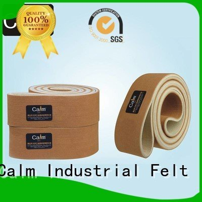 industrial conveyor manufacturers tempseamless seamless felt belt Calm Industrial Felt Brand