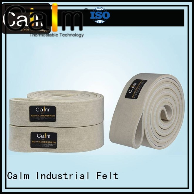 tempseamless 180°c industrial conveyor manufacturers Calm Industrial Felt Brand