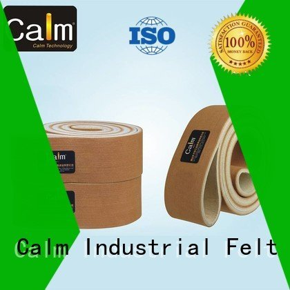 industrial conveyor manufacturers ring Calm Industrial Felt Brand felt belt