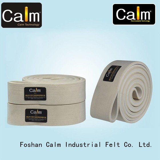 low temperature belt Calm Industrial Felt industrial conveyor manufacturers