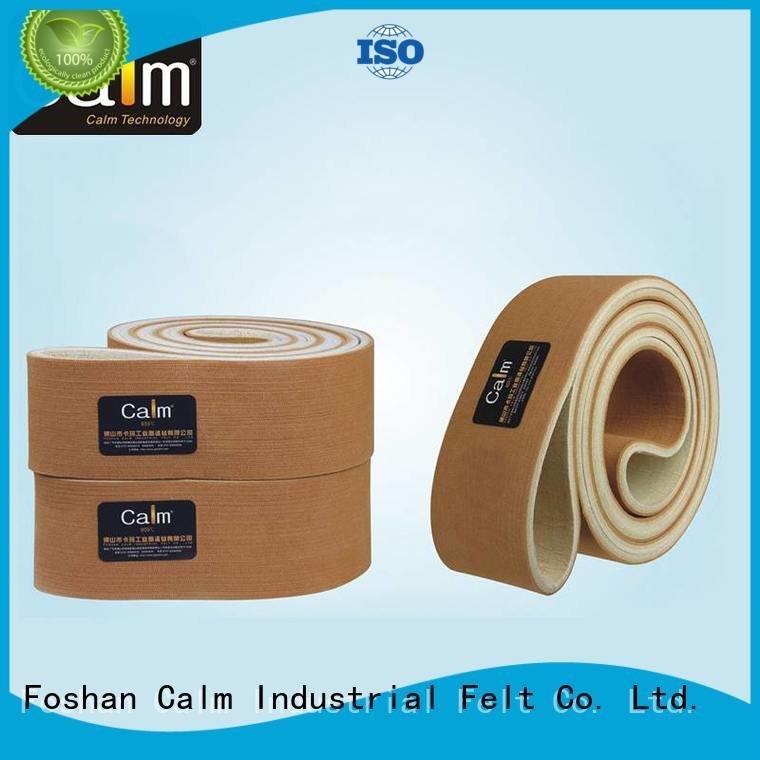 industrial conveyor manufacturers 180°c ultrahigh felt belt Calm Industrial Felt Warranty