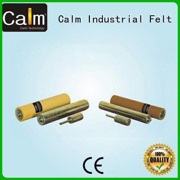 Hot aluminum conveyor rollers gravity iron roller Calm Industrial Felt Brand