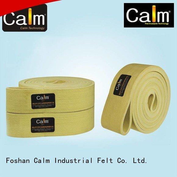 Calm Industrial Felt felt 280°c felt belt ring ultrahigh