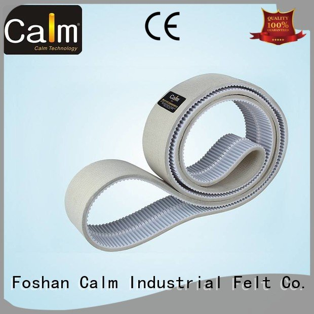 timing belt Hot thin felt strips timing felt strips belt Calm Industrial Felt