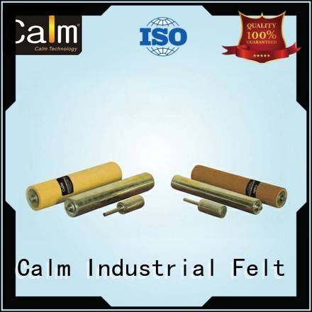 Quality Calm Industrial Felt Brand aluminum conveyor rollers gravity roller