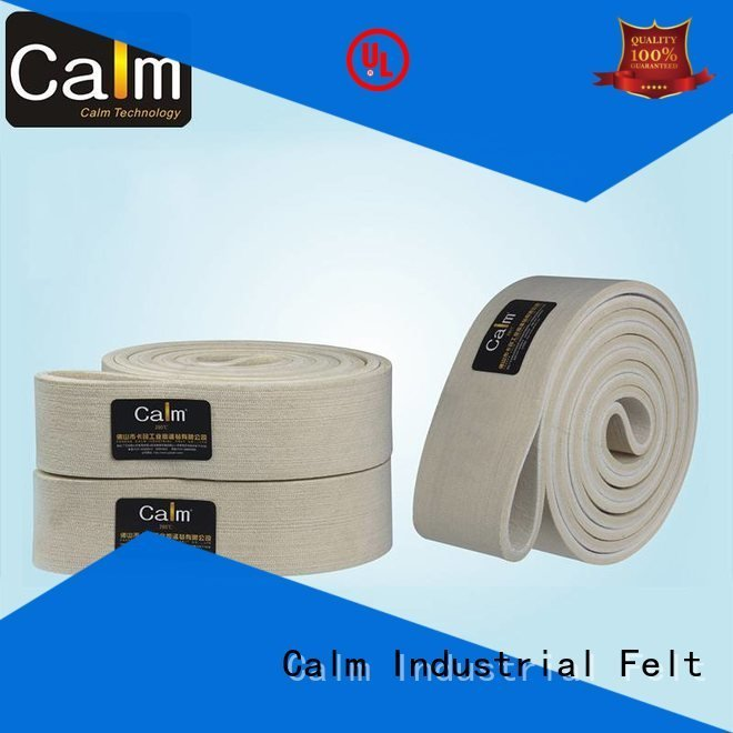 Wholesale middle tempseamless felt belt Calm Industrial Felt Brand