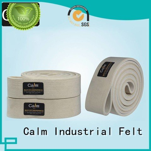 industrial conveyor manufacturers ring seamless felt belt Calm Industrial Felt Warranty