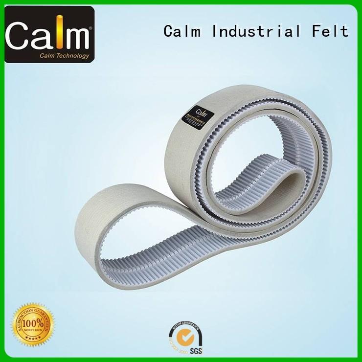 timing belt thin felt strips belt belt Calm Industrial Felt Brand