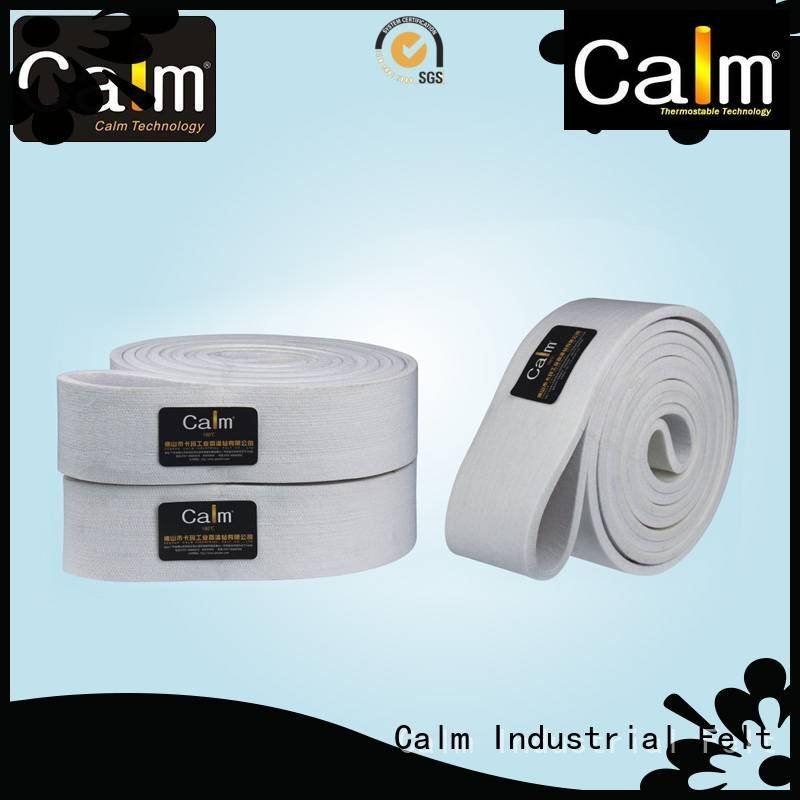Calm Industrial Felt conveyor 600°c 180°c industrial conveyor manufacturers ultrahigh