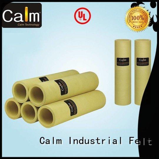 pbo pbokevlar600°c black felt roll roller felt roll Calm Industrial Felt Brand