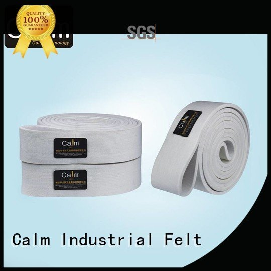 ultrahigh 600°c felt belt low Calm Industrial Felt